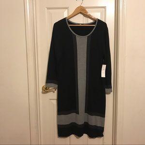 NWT Spense longsleeve knit dress